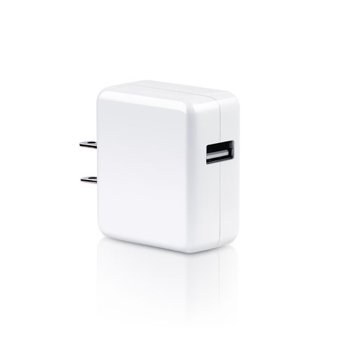Portable travel USB Charger 1A output curent LS-PW05-0510