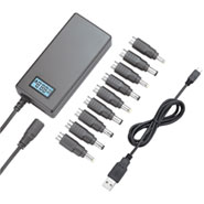 70W Classical Universal Laptop AC Adaptor With LCD display LS-PAB70-BC07A