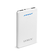 8000mAh Portable Fast Charger Power Bank with Qualcomm Quick Charge 2.0 for Smart Phones LS-Q80